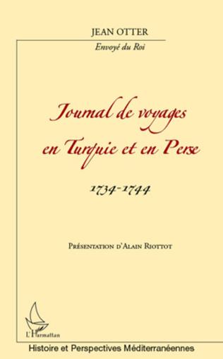 Couverture Journal de voyages en Turquie et en Perse