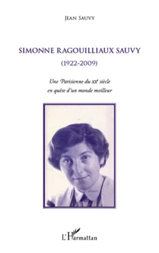 Couverture Simonne Ragouilliaux Sauvy