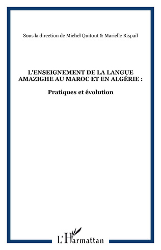 Couverture L'IDENTIFICATION DU TYPE DESCRIPTIF AMAZIGH : SA STRUCTURE ET SES ELEMENTS LINGUISTIQUES RECURRENTS