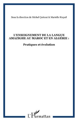 Couverture L'ENSEIGNEMENT DE LA LANGUE AMAZIGHE EN ALGERIE : QUELLES BASES PEDAGOGIQUES