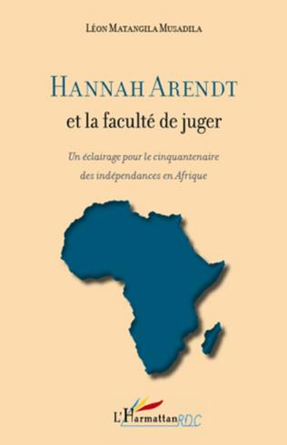 Couverture Hannah Arendt et la faculté de juger