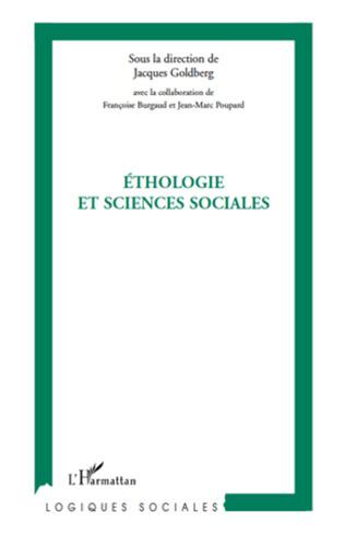 Couverture Ethologie et sciences sociales