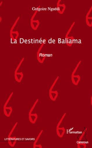 Couverture La Destinée de Baliama