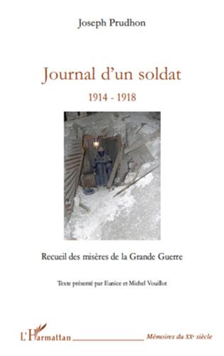Couverture Journal d'un soldat