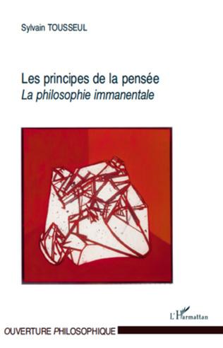 Couverture Les principes de la pensée