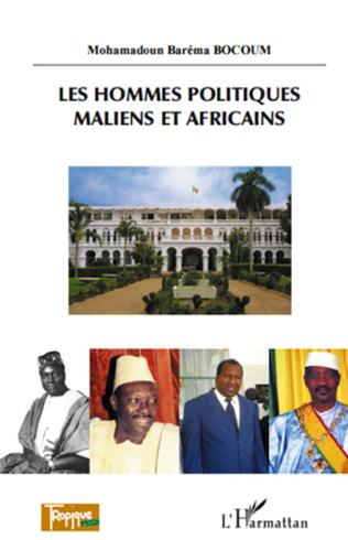 Couverture Les hommes politiques maliens et africains