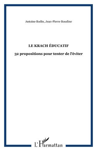 Couverture Le krach éducatif