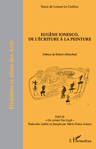 Couverture Eugène Ionesco, de l'écriture à la peinture
