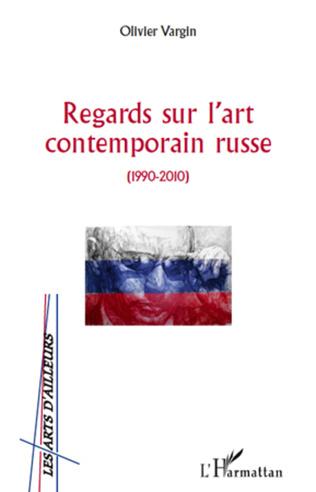 Couverture Regards sur l'art contemporain russe