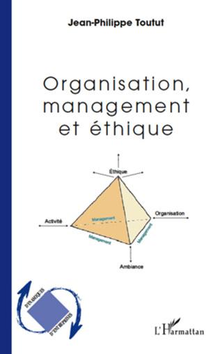 Couverture Organisation, management et éthique