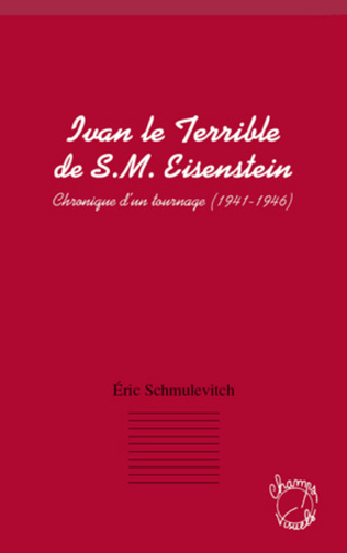 Couverture Ivan le terrible de S. M. Eisenstein