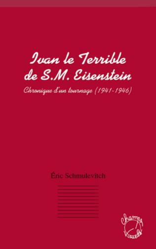 Couverture Ivan le terrible de S. M. Eisenstein