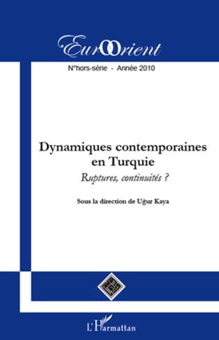 Couverture Dynamiques contemporaines en Turquie