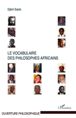 Couverture Le vocabulaire des philosophes africains