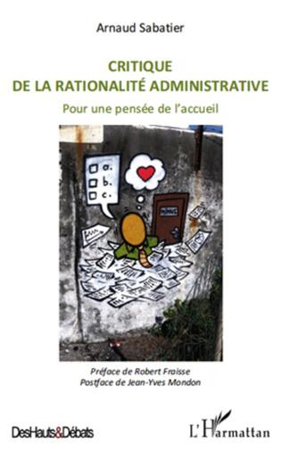 Couverture Critique de la rationalité administrative