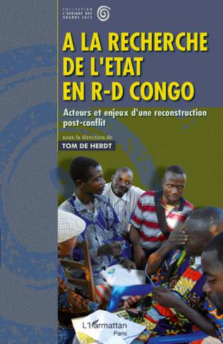 Couverture A la recherche de l'Etat en R-D Congo