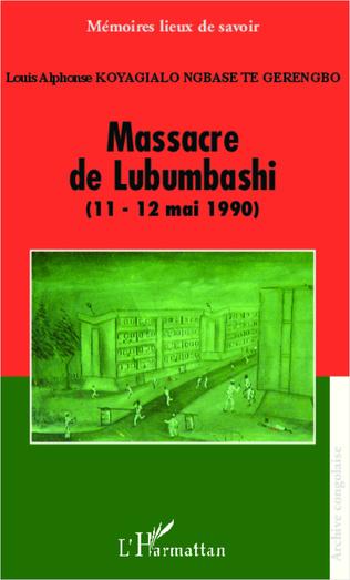Couverture Massacre de Lubumbashi (11-12 mai 1990)