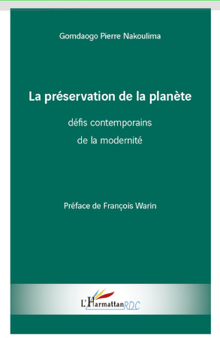 Couverture La préservation de la planète