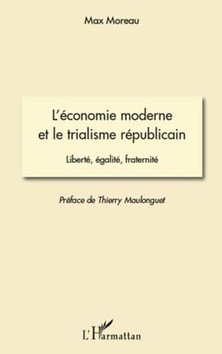 Couverture L'économie moderne et le trialisme républicain