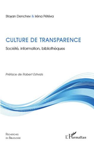 Couverture Culture de transparence