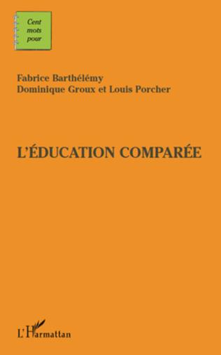 Couverture Cents mots pour l'éducation comparée