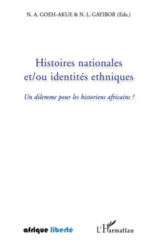 Couverture Histoires nationales et/ou identités ethniques