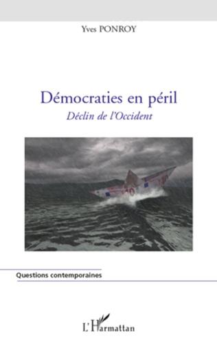 Couverture Démocraties en péril