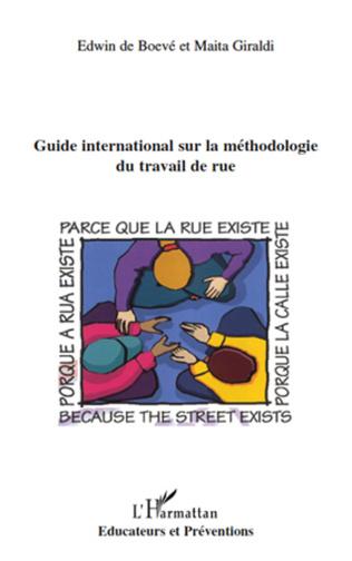 Couverture Guide international sur la méthodologie du travail de rue