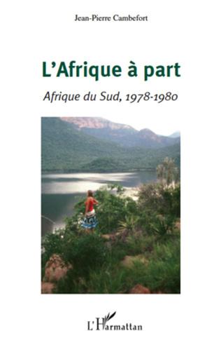 Couverture L'Afrique à part