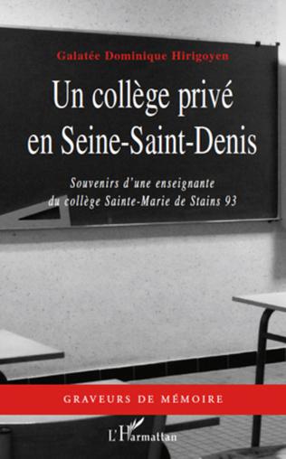 Couverture Un collège privé en Seine-Saint-Denis