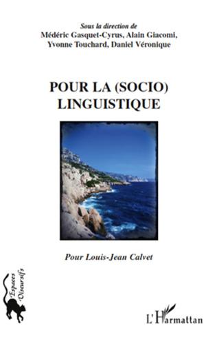 Couverture Pour la (socio)linguistique