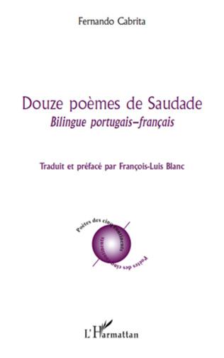 Couverture Douze poèmes de Saudade