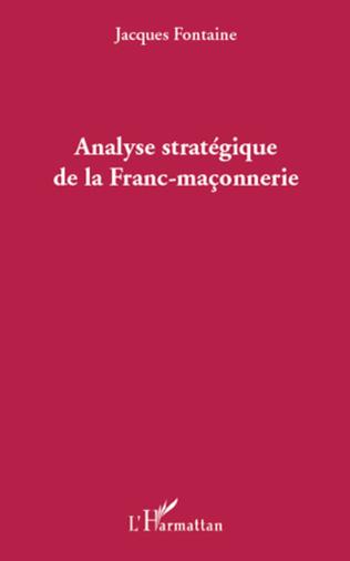 Couverture Analyse stratégique de la Franc-maçonnerie