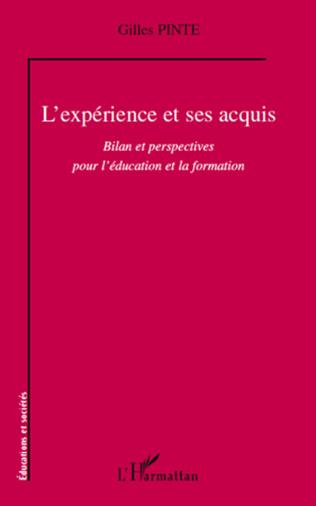 Couverture L'expérience et ses acquis