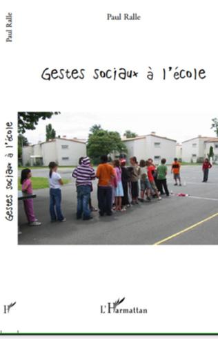 Couverture Gestes sociaux à l'école