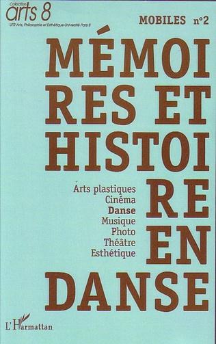 Couverture Mémoires et histoire en danse