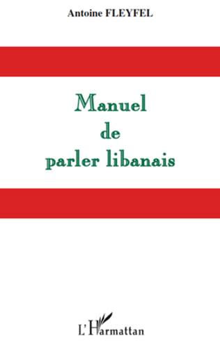 Couverture Manuel de parler libanais
