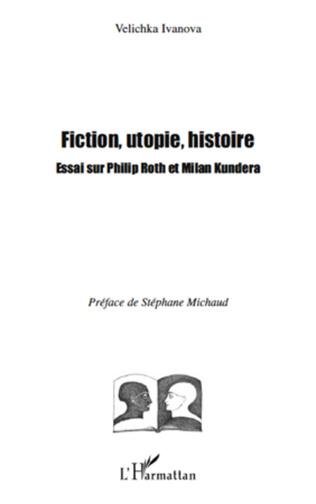 Couverture Fiction, utopie, histoire