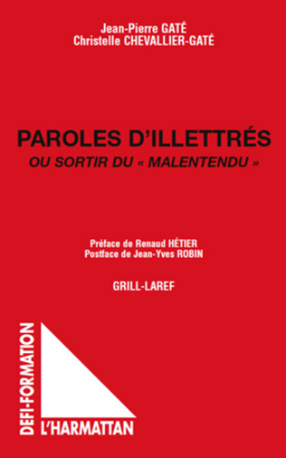 Couverture Paroles d'illettrés