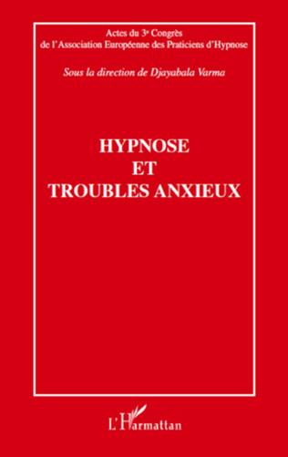 Couverture Hypnose et troubles anxieux