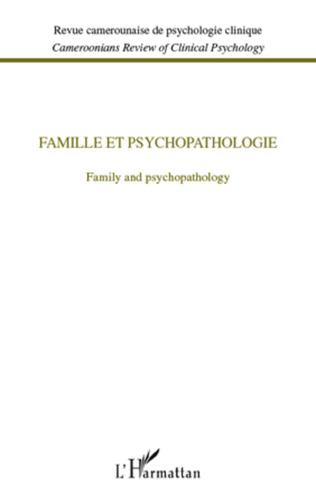 Couverture Famille et psychopathologie