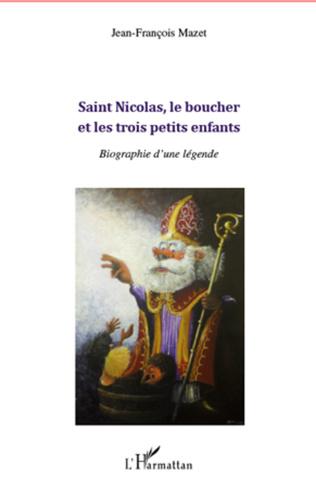 Couverture Saint Nicolas, le boucher et les trois petits enfants