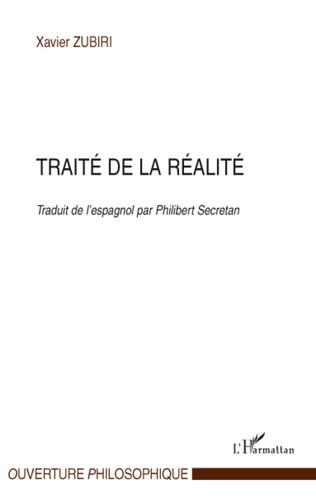 Couverture Traité de la réalité