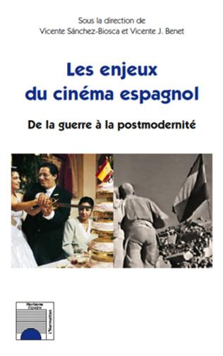 Couverture Les enjeux du cinéma espagnol