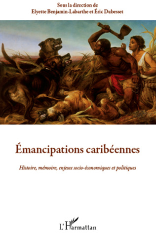 Couverture Emancipations caribéennes