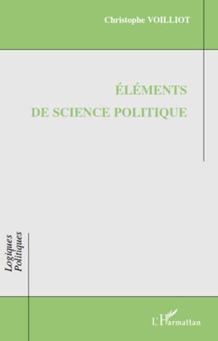 Couverture Eléments de science politique