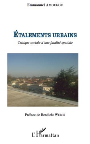 Couverture Etalements urbains