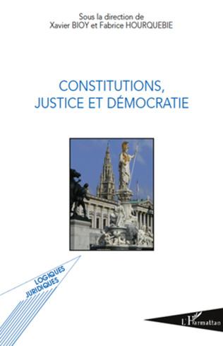 Couverture Constitutions, justice et démocratie