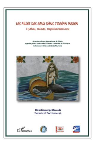 Couverture Les filles des eaux dans l'Océan indien