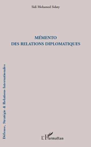 Couverture Mémento des relations diplomatiques